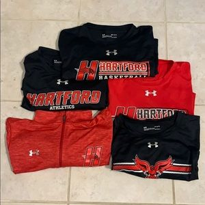 Under Armour Collection of mixed Hartford Gear.